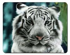 Siberian White Tiger Computer Mouse Mat Christmas Gift Idea, AT-13M
