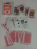 VINTAGE PLASTIC PLAYING CARDS Streamline United States Company Poker Games, etc.