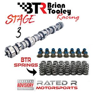 BTR 4.8l 5.3l 6.0 LS Truck Stage 3 Camshaft Kit Brian Tooley Cam Springs Seals