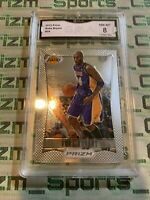 Kobe Bryant 2012-13 Panini Prizm GMA Graded 8 Psa Bgs Sgc Low Pop 1st Year Prizm