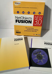 NetObjects Fusion New Version 3.0 for Windows - Homesite Software Web Builder