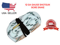 12 Gauge Gun Rifle Pistol Rope Bore Snake Cleaner Cleaning Tool Kit Boresnake