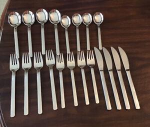 20 Pieces WMF Cromargan 18/10 CENTO Korea (4 Place Settings) Straight Handle