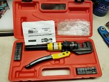 Central Hydraulics Hydraulic Wire Crimping Tool Item 66150 used very little
