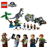 LEGO JURASSIC WORLD Baryonyx Face-Off: The Treasure Hunt 75935 Minifigures