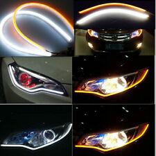 60cm Flexible LED Strip Lamp Car Soft Tube Guide DRL Daytime Running Light