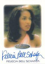 New listing 2010 RITTENHOUSE THE WOMEN OF STAR TREK AUTOGRAPH CARD FELECIA BELL SCHAFER