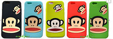 Apple Iphone 6 4.7 3d Paul Frank Mono rostro suave Gel De Silicona De Goma Funda Protectora