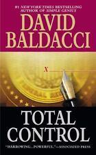 Total Control, David Baldacci, 0446604844, Book, Acceptable