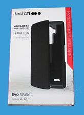 100%GENUINE Tech21 ADVANCED IMPACT PROTECTION Evo Wallet Case for LG G4 -**NEW**