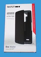 100% Genuine Tech 21 avanzata protezione dagli urti Evo Custodia Portafoglio Per LG G4 - ** NUOVO **