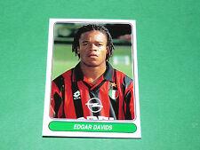 N°56 EDGAR DAVIDS MILAN AC CALCIO PANINI EUROPEAN FOOTBALL STARS 1996-1997