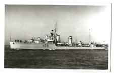 "Royal Navy Real Photo. HMS ""Delight"" Destroyer. Sunk in English Channel. 1934"
