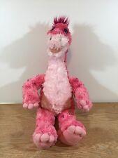 """Build a Bear Pink Apatosaurus Dinosaur 20"""" Plush"""