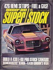 Rodder & super stock nov 1972 grumpy jenkins drag racing-fast eddie maverick