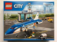 LEGO 60104 Airport Passenger Terminal - City Airplane - New Sealed