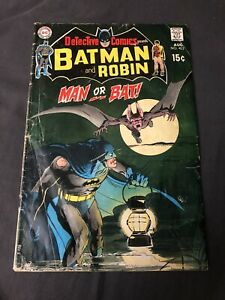 Detective Comics #402. 2nd App Of Man Bat! FAIR/GODD CONDITION!