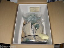 STAR WARS MINT/BOX ILLUSTIVE CONCEPTS HAND PAINTED LIFE SIZE YODA MARIO CHIODO