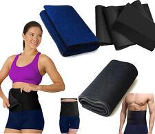 SLIMMING BELT FAT BURNER CELLULITE EXERCISE WAIST SWEAT BODY SHAPPER WRAP