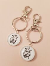 Ru Paul Quote Gurl Love Yourself Win Life Positive Keyring Bag Charm Gift Tag