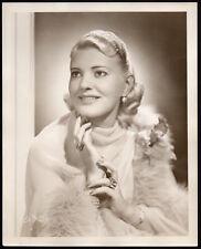 Helen Jepson Metropolitan Opera singer Vintage Orig Photo Dbw 8x10