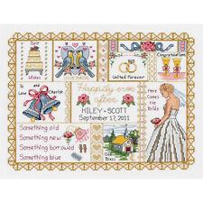 Janlynn Cross Stitch Kit - Wedding Collage