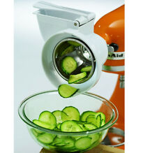 KitchenAid Rotor Slicer Shredder Stand Mixer Attachment RVSA Slice Fruits Vegee