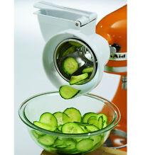 KitchenAid Rotor Slicer Shredder Stand Mixer Attachment RVSA Slice Fruits Vegee