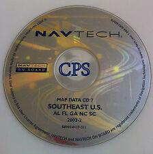 LAND ROVER RANGE ROVER NAVTECH NAVIGATION DATA MAP CD 7 SOUTH EAST USA