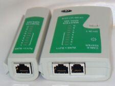 Kabel Tester für RJ45 CAT5 RJ11 RJ12 ISDN LAN DSL Netzwerk Testgerät Kabeltester