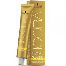 Schwarzkopf Igora Royal Absolutes Age Blend Permanent Hair Color 60ml 6.70 Dark Blonde Copper Natural
