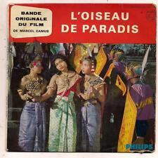 FRENCH EP BOF OST L OISEAU DE PARADIS MAURICE JARRE MARCEL CAMUS