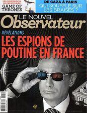 Mag 2014: POUTINE_CALOGERO_Le smoking YVES SAINT-LAURENT_GEORGE R.R.MARTIN