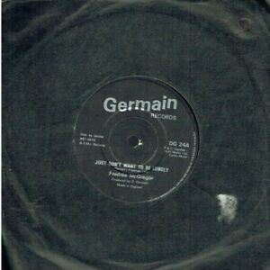 FREDDIE McGREGOR JUST DON'T WANT TO BE LONELY 45