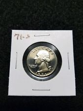 1971-S,,,,,,US PROOF QUARTER,,,, FROM US PROOF SET