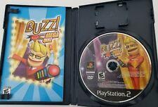 Buzz! The Mega Quiz Sony Playstation 2 Game No Buzzers