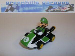 Greenhills Carrera GO!!! Mario Kart Luigi Go Kart - NEW - 21091