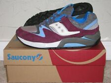 Saucony Grid 9000 LE Italia Grey/Blue/Burgundy Mens Size 9.5 DS NEW! S70169-1