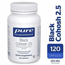 Pure Encapsulations - Black Cohosh 2.5 - Hypoallergenic Supplement to Offer Supp