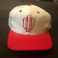 VTG 90s Indiana Hoosiers Fitted Hat IU Sports