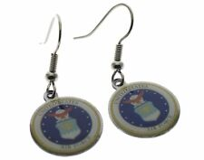 Air Force Emblem Earrings 1/2 inch Ra1033aiD173