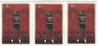 ( 3 ) Card Lot 1999 UPPER DECK MVP Michael Jordan #199 CHICAGO BULLS HOF