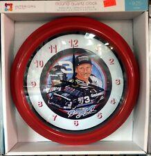 """NASCAR #3 DALE EARNHARDT Sr. -  9.25"""" WALL CLOCK"""