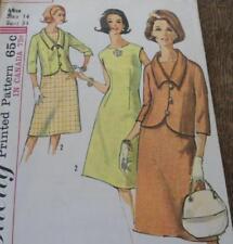 Vintage Lot 1960s Sewing Patterns Coats Dress Ladies Jackie O Suits