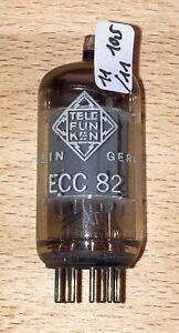 ECC82 Telefunken ( 12AU7 ) - mit <> - NOS (R238)