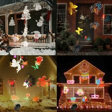 Projecteur de Lumière LED Noël Halloween Intérieur Extérieur Imperméable 16