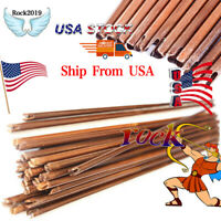 12Pcs 80cm Bamboo Arrows shaft diameter 8mm Spine 20-70lbs For Hunting longbow