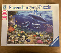 Family of Dolphins ~ 1000 Piece Ravensburger Jigsaw Puzzle