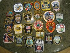 old vintage rare obsolete Police Sheriff patch lot group collection 25 in all