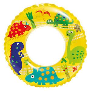 Wasserspielring Schwimmreifen Schwimmring Schwimmhilfe Ocean - Motiv Dinosaurier